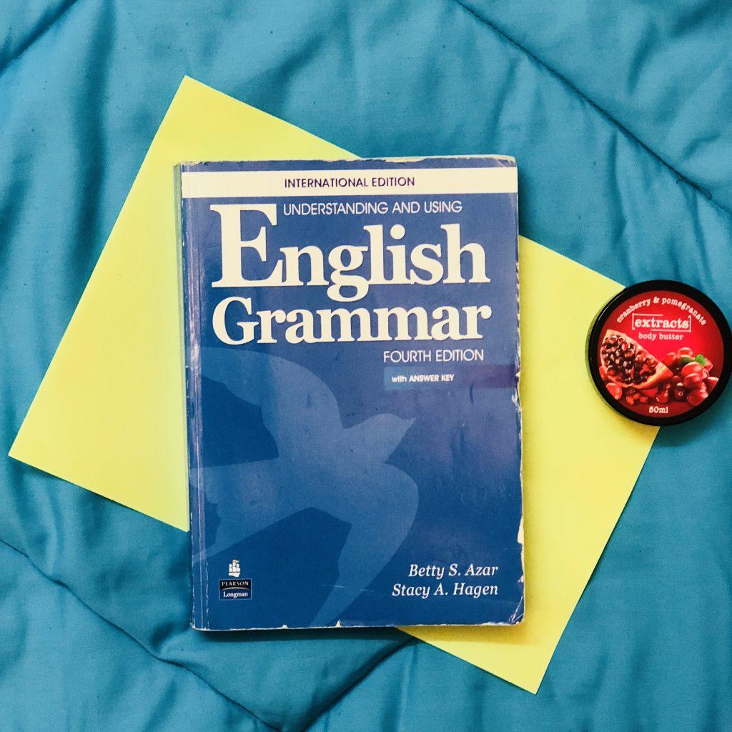 کتاب مناسب برای گرامر زبان انگلیسی