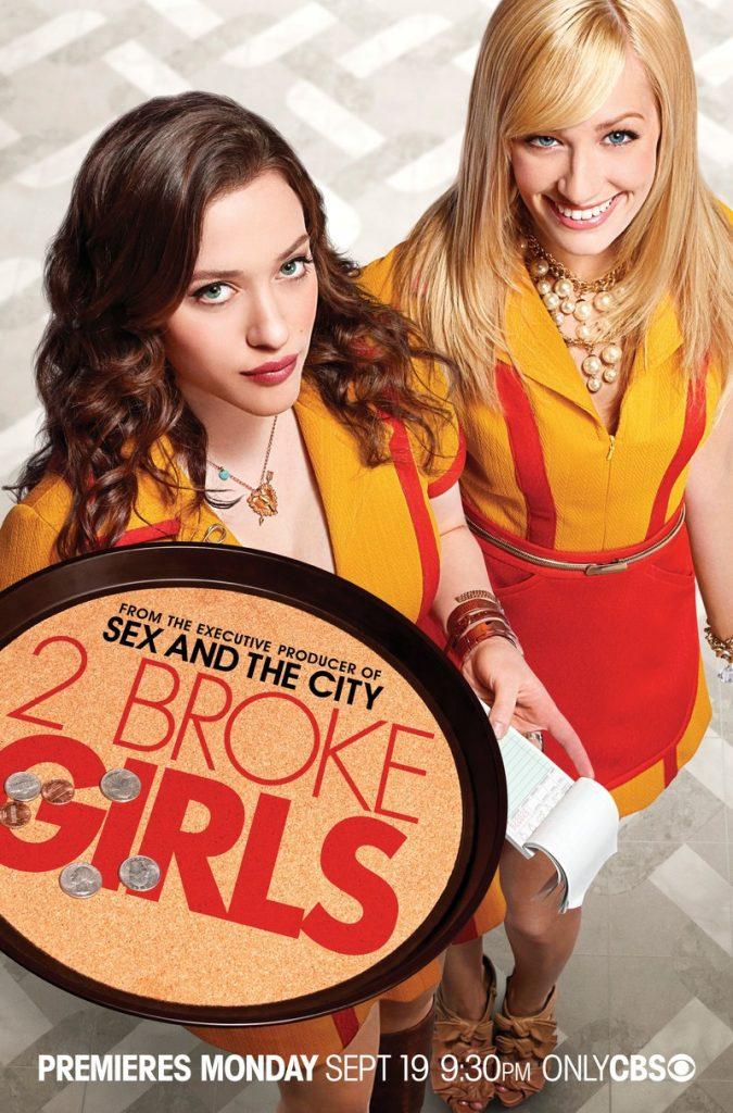 سریال two broke girls