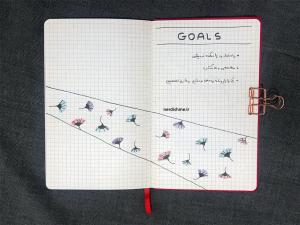 صفحه اهداف در بولت ژورنال