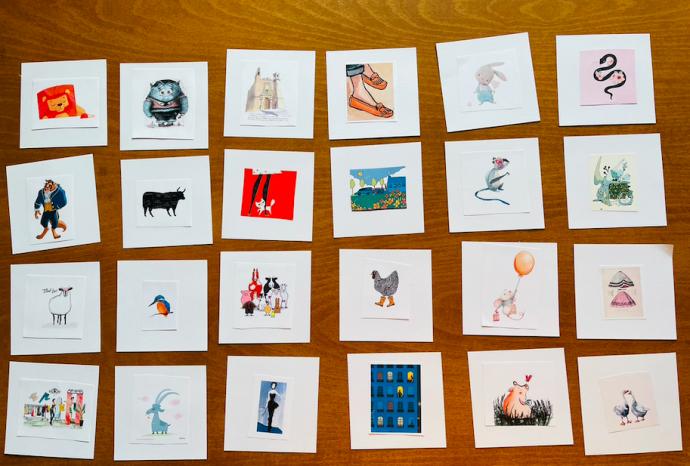 آموزش درس کردن فلش کارت تصویری برای زبان جدید